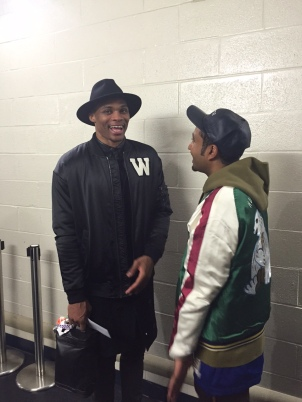 Russell Westbrook joins the long list of celebrities to discuss fashion with DC Livers