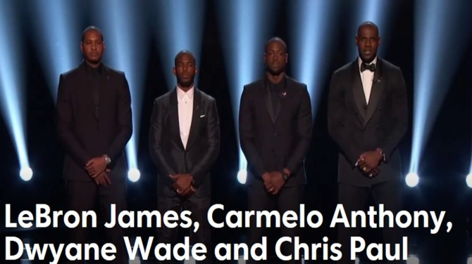 Lebron James Carmelo Anthony Chris Paul