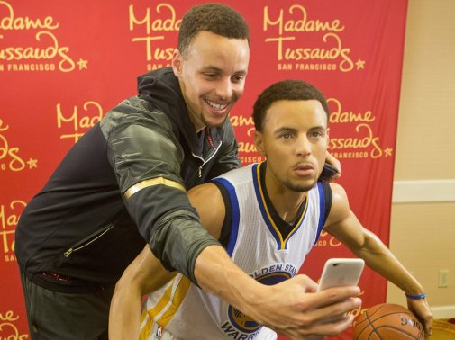 Steph Curry and Steph Curry