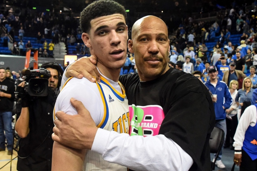lonzo ball and lavar ball dad