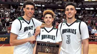 lonzo ball brothers