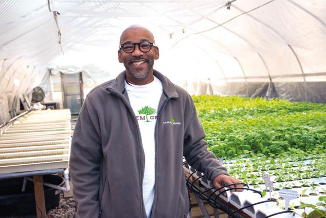 Tony Hillery of Harlem Grown