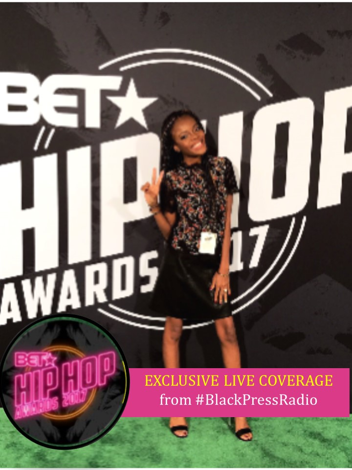 BET Hip Hop Awards taping 2017 LIVE from Miami, Florida it's BlackPressRadio