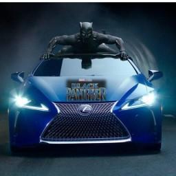 Lexus Black Panther car