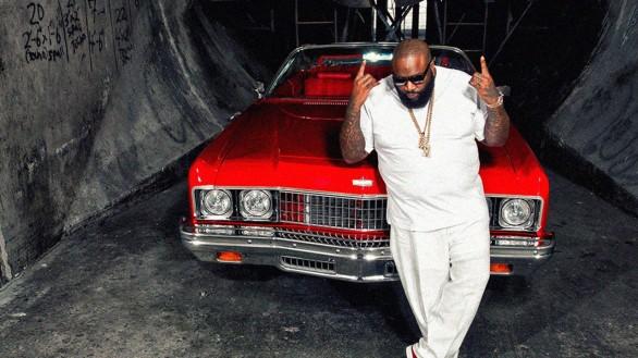 Hip Hop Cars NY Auto Show 2018 - Rick Ross