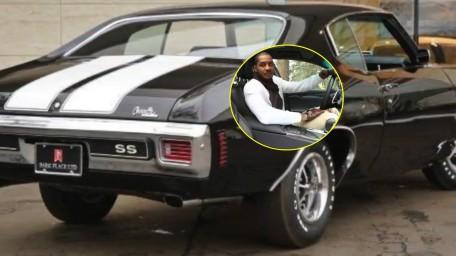 Carmelo Anthony loves cars