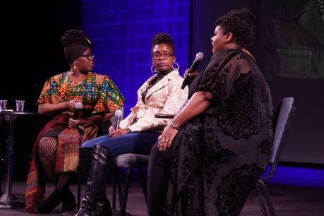 Black Female Photographers panelists by DC Livers