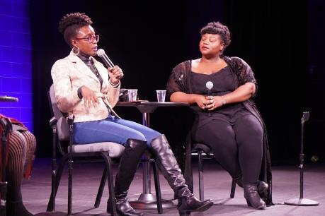 Black Women photographers by DC Livers panel