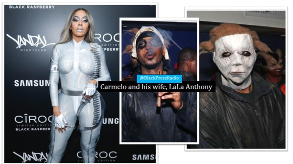 Halloween celebrities 2018 LaLa Anthony