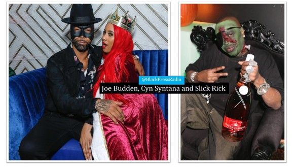 Halloween celebrities 2018 LaLa Anthony Joe Budden