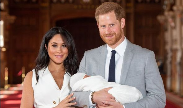 Meghan and Harry introduce their son, Archie