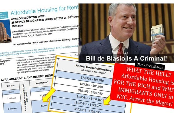 Arrest the Mayor: De Blasio targeted Black people in COVID-19