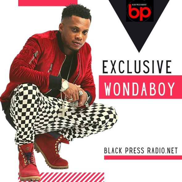 Wondaboy LIVE interview on BlackPressRadio drops new CD and single: My Love