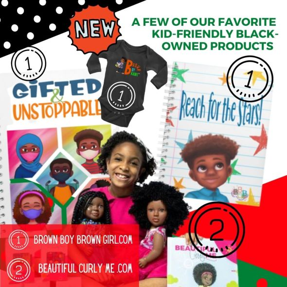 Black Owned Toy Companies and Kid-Friendly gift ideas