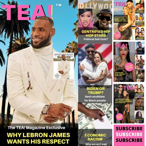 The TEA Magazine tackles racism - SUBSCRIBE