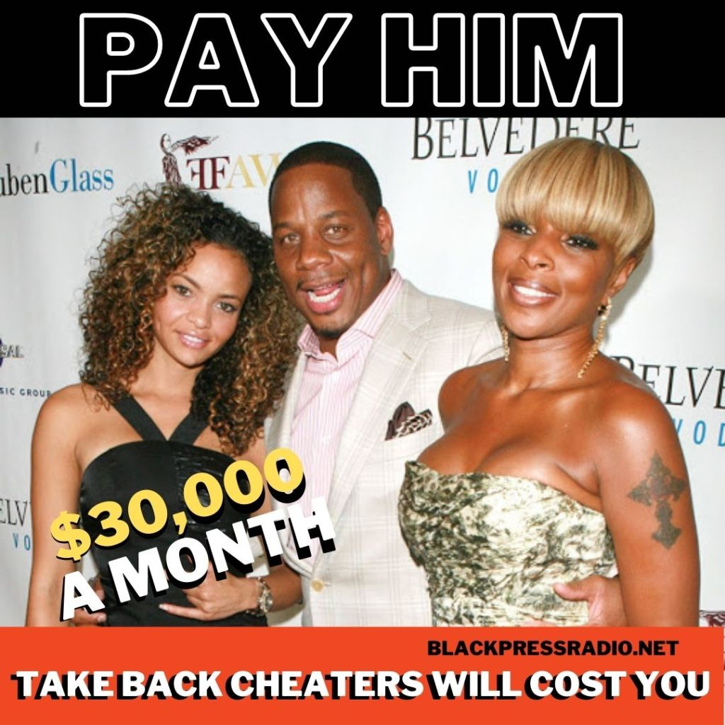 Mary J. Blige has to pay her ex $30,000 a month to go away