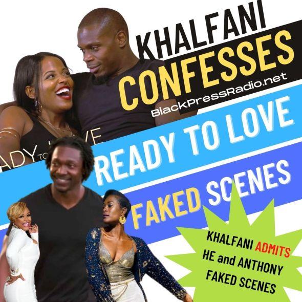 KHALFANI confessed to faking scenes