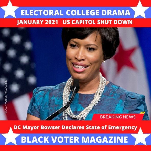 Mayor Muriel Bowser talks about Inauguration