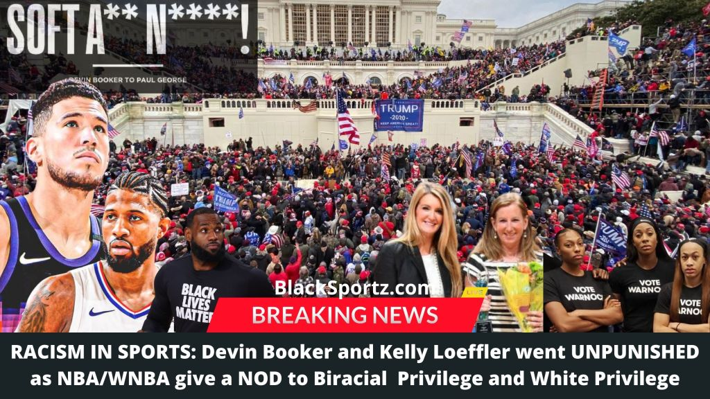 Kelly Loeffler, Devin Booker, Biracial Privlege, White Privlege