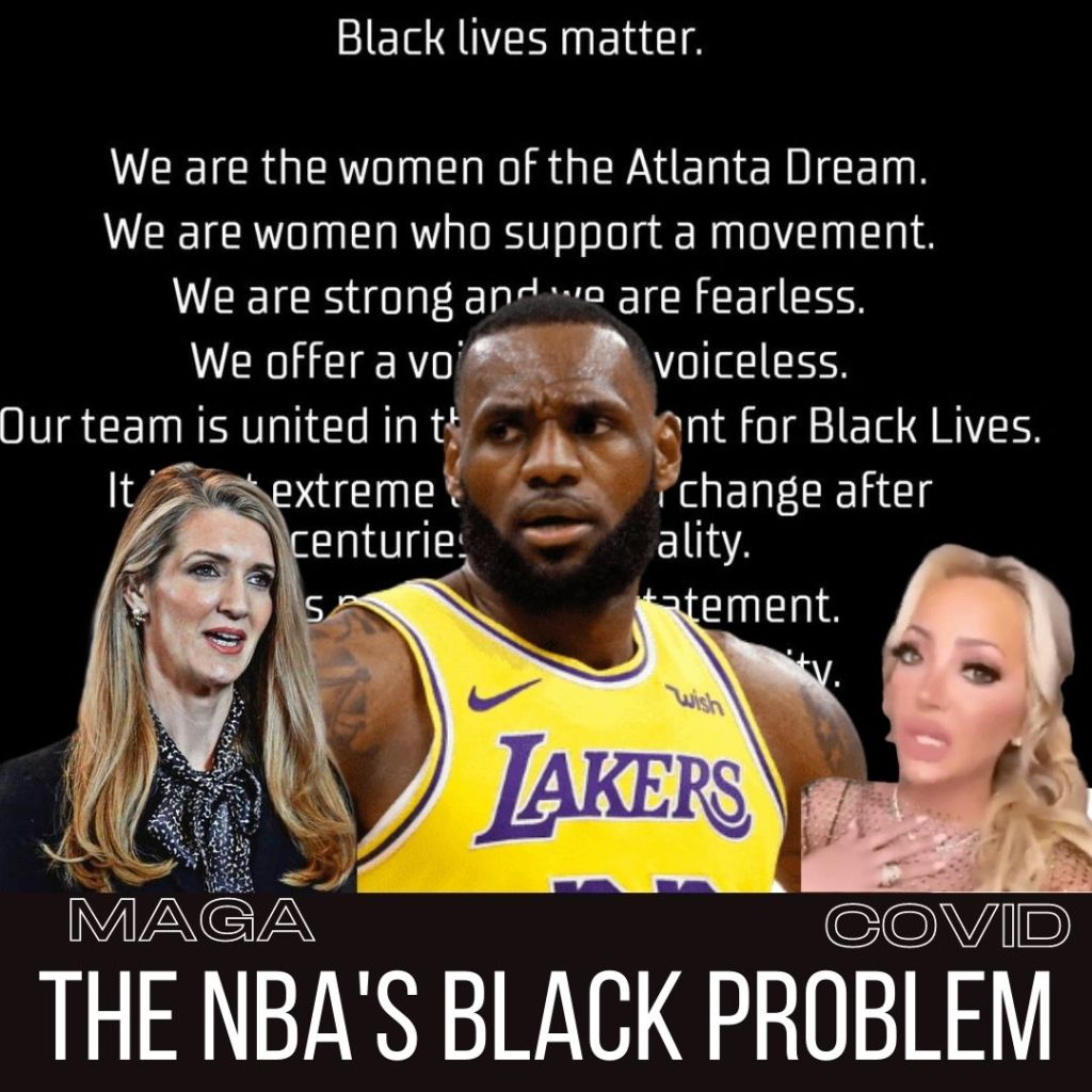 NBA's Racist ties are showing